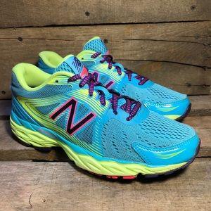 New Balance 680 v4 Blue Running Shoes